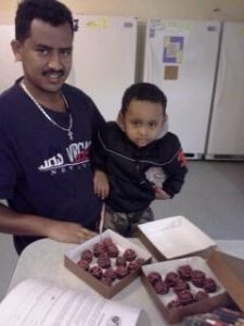 Father and Son Make Truffles at Interfaith's Family Shelter