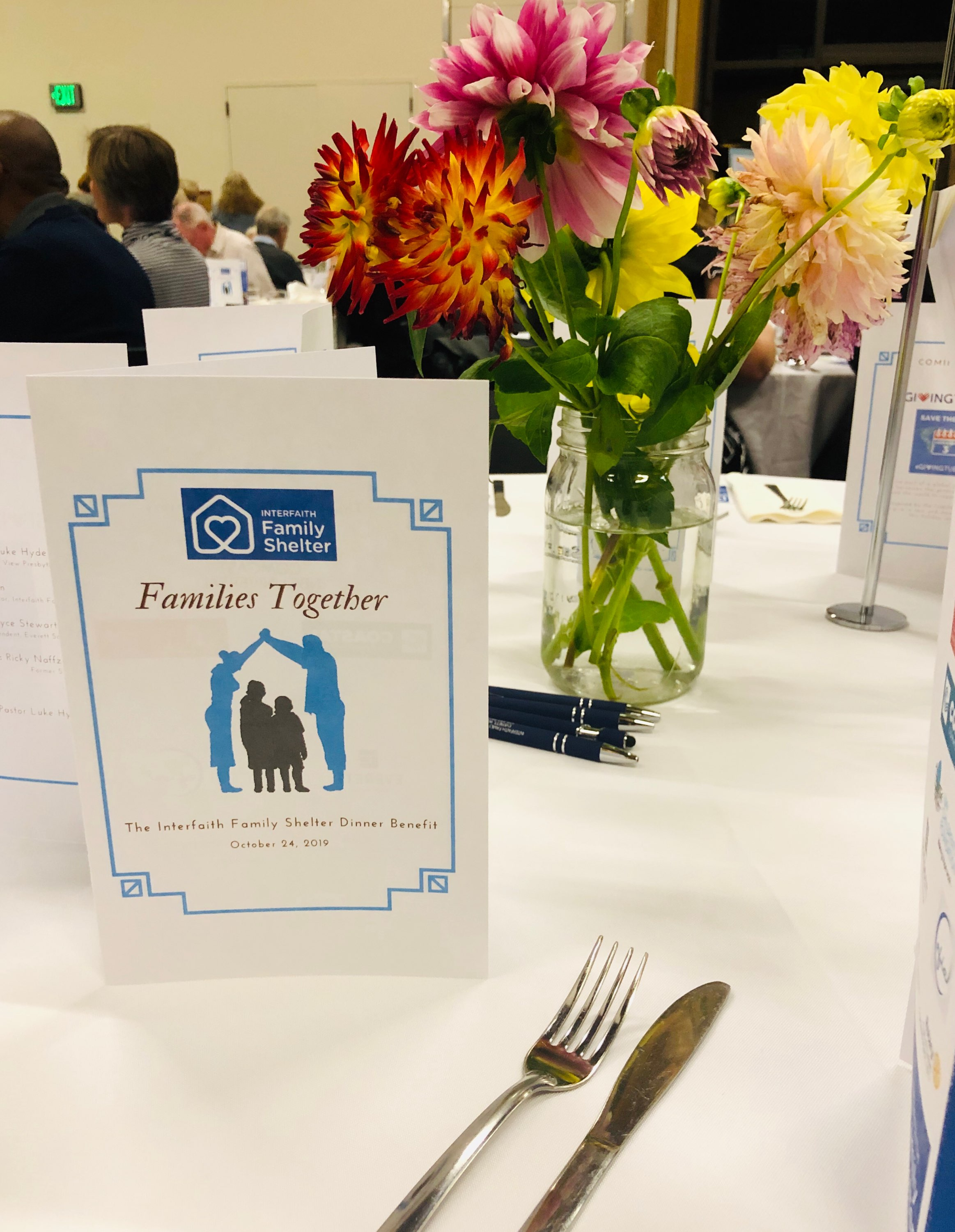 The 2019 Families Together Benefit Dinner