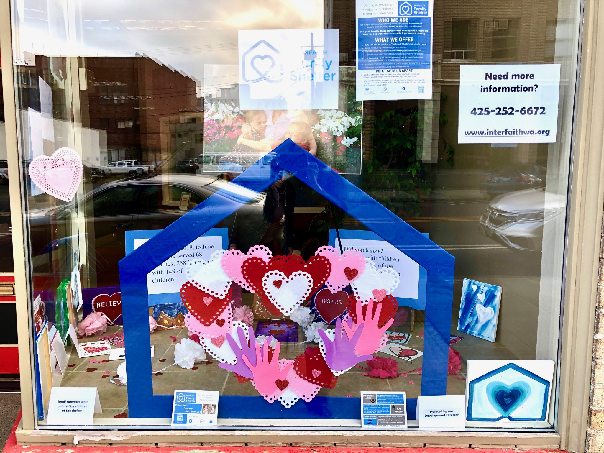 Shelter Love on Display